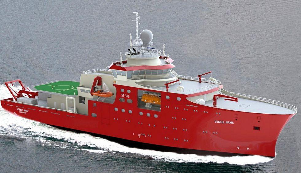 .<span lang= es-es >Firmado el oceanográfico para Perú</span>. El viernes se procedió a la entrega de avales y firma del contrato. Freire construirá, por 79,2 millones, el buque para la Marina del país sudamericano (en la imagen, el proyecto).
