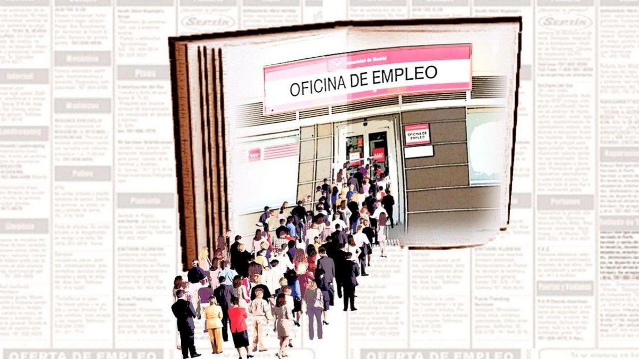El Primero de Mayo en Compostela.La ministra de Economía, Nadia Calviño, tras el último Consejo de Ministros de la legislatura, el 26 de abril