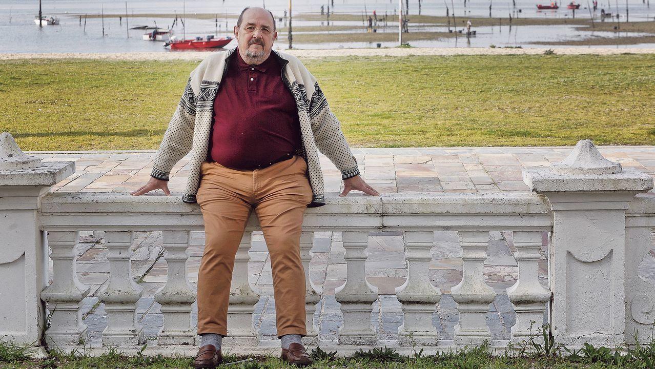 Una constelación de estrellas Michelin en Negreira.Diego Luna y José Andrés