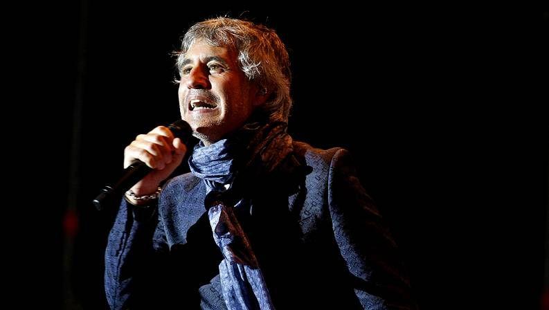 Sergio Dalma en las fiestas del 2011 en A Coruña