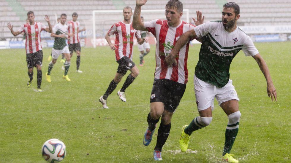 Líneas clásicas enlanueva indumentaria del Racing de Ferrol.El Zamora visitó Ferrol por última vez en septiembre del 2014 y ganó por 1-2