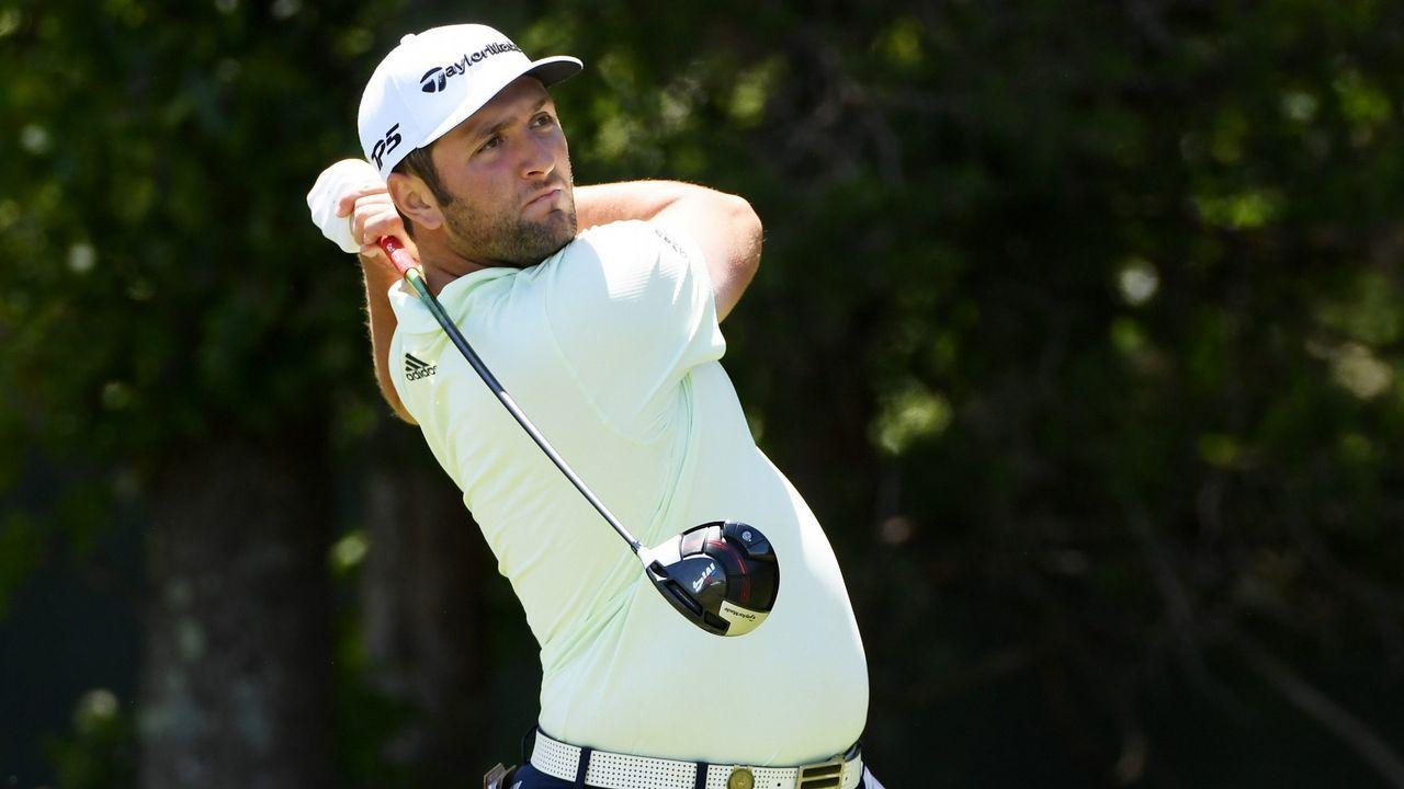 Ganadores del torneo de golf en La Barganiza