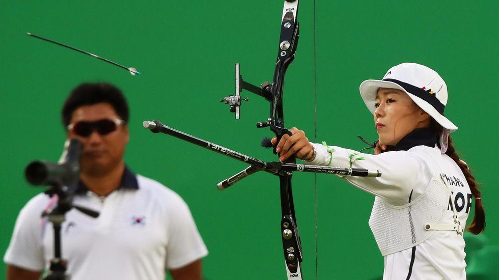 Chang Hye-Jin se llevó el oro de tiro con arco individual y por equipos