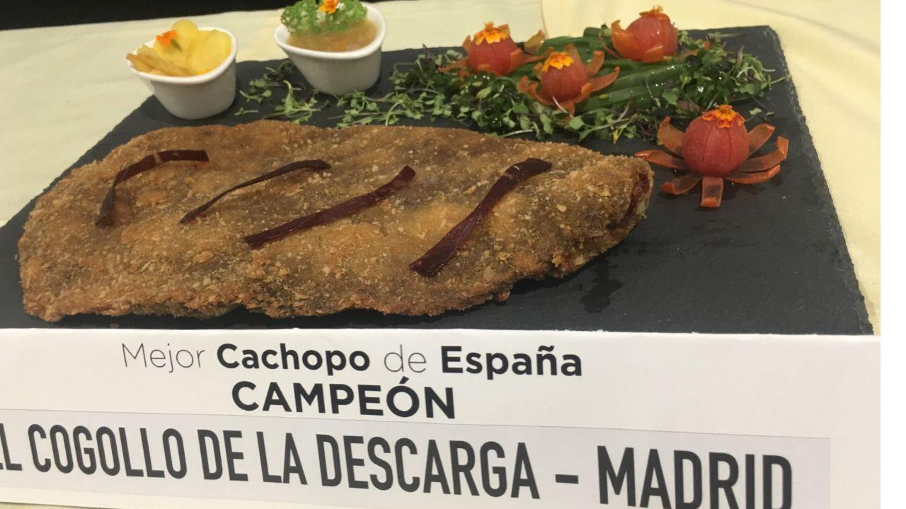 El mejor cachopo de España 2019