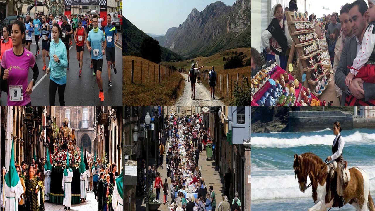 Semana Santa en Asturias.