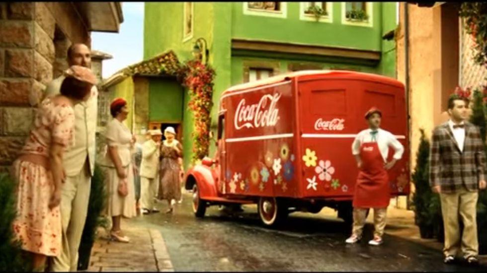 Spot de Coca-Cola en Asturias.Spot de Coca-Cola en Asturias