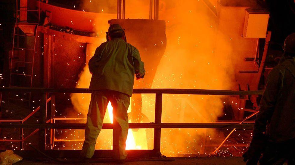 Producción de acero.Producción de acero