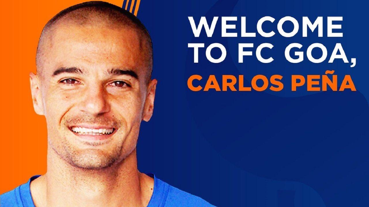 .El FC Goa ficha al exoviedista Carlos Peña