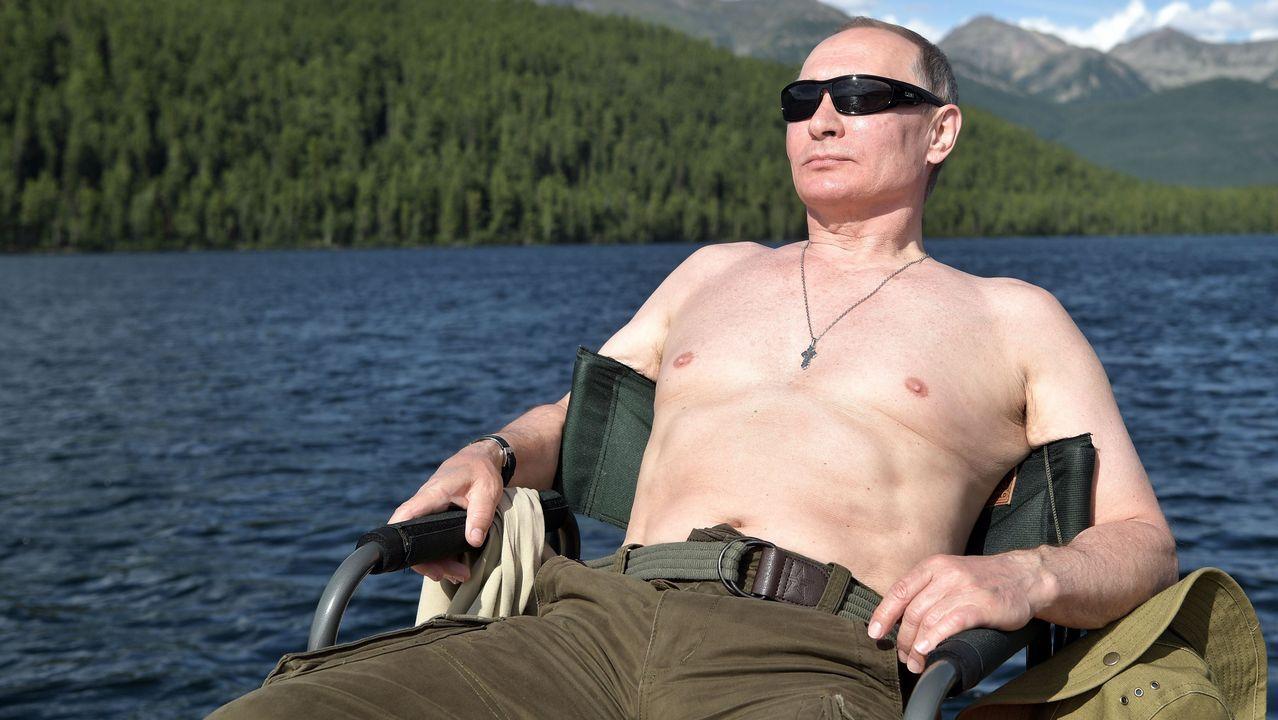 Putin de vacacionesen Siberia.El elasmoterio, una especie extinta de mamífero perisodáctilo de la familia Rhinocerotidae
