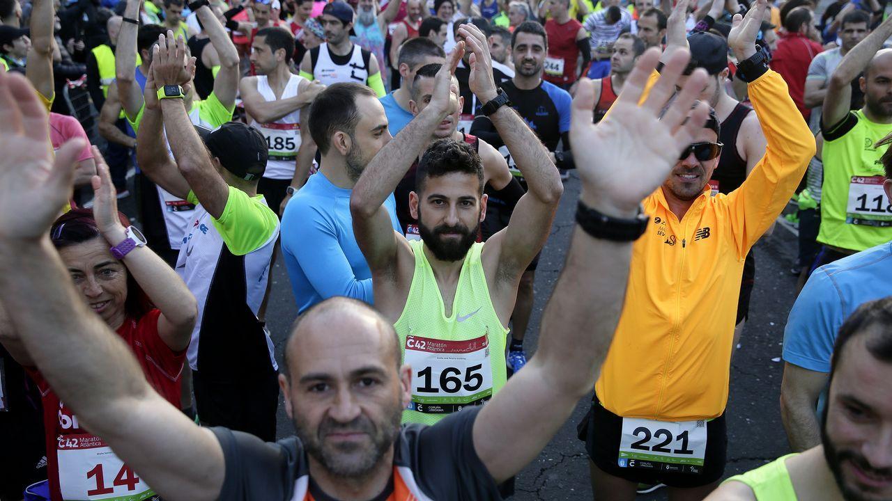 Búscate en la popular 10K y maratón Coruña42.