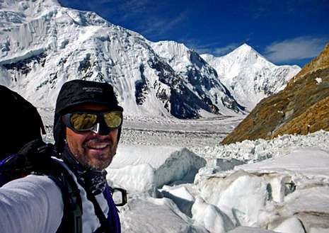 Preocupación por los tres montañeros perdidos.Abel Alonso lleva desde el 20 de junio en la cordillera del Karakorum.