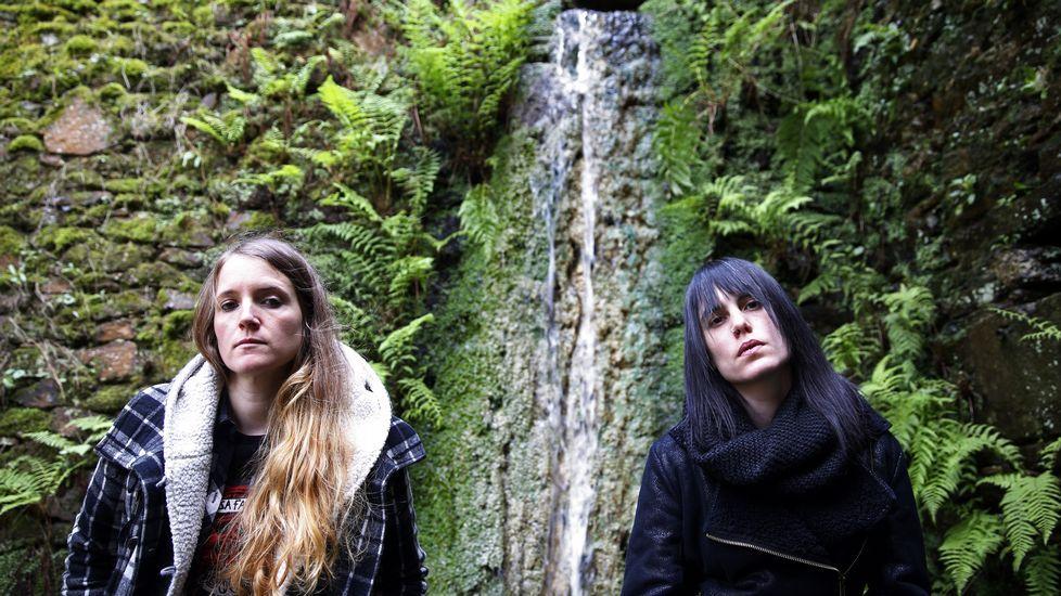 Anxela Baltar y Violeta Mosquera, las dos integrantes de Bala