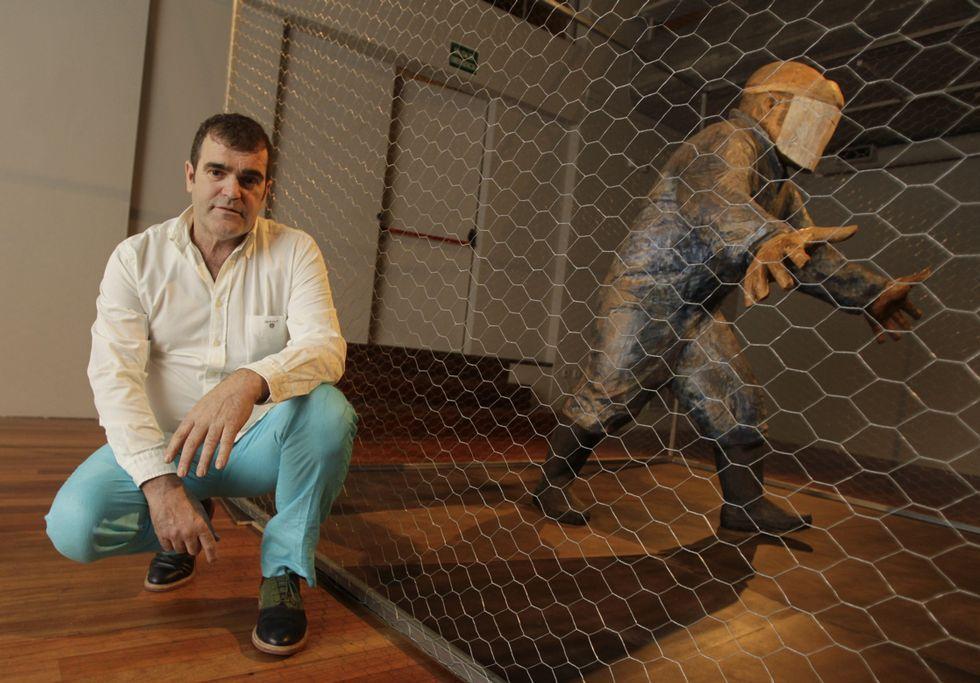 Leiro se inspiró en la gripe aviar para «Capoeiro».
