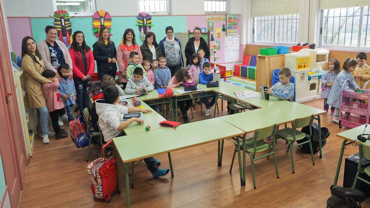 Master Chef Solidario y día de los abuelos en el colegio de Castiñeiras.Orfeón Lucense