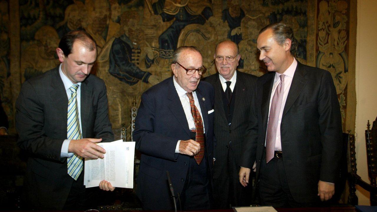 .Inauguración del Congreso sobre Valle Inclan en el Museo de Pontevedra