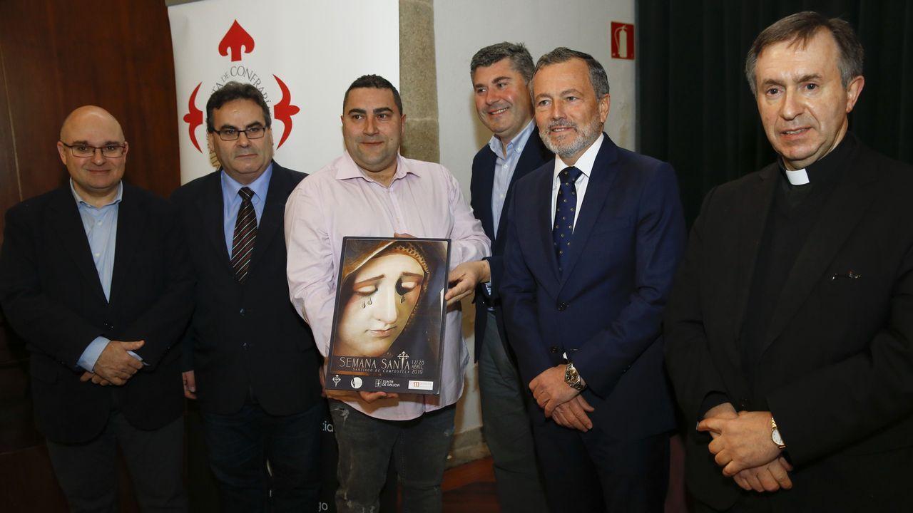A Mariña en Fitur.El Cristo Yacente es una de las piezas de la muestra, ubicada en pleno casco histórico de Ferrol