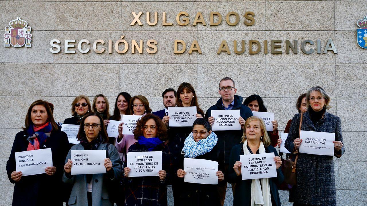 Huelga desecretarios judiciales