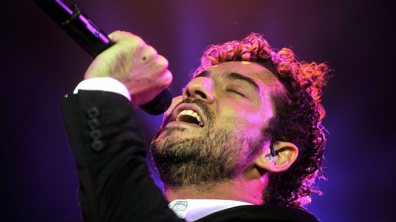Así fue el primer concierto de la Ascensión en A Quintana.Fernando Alonso