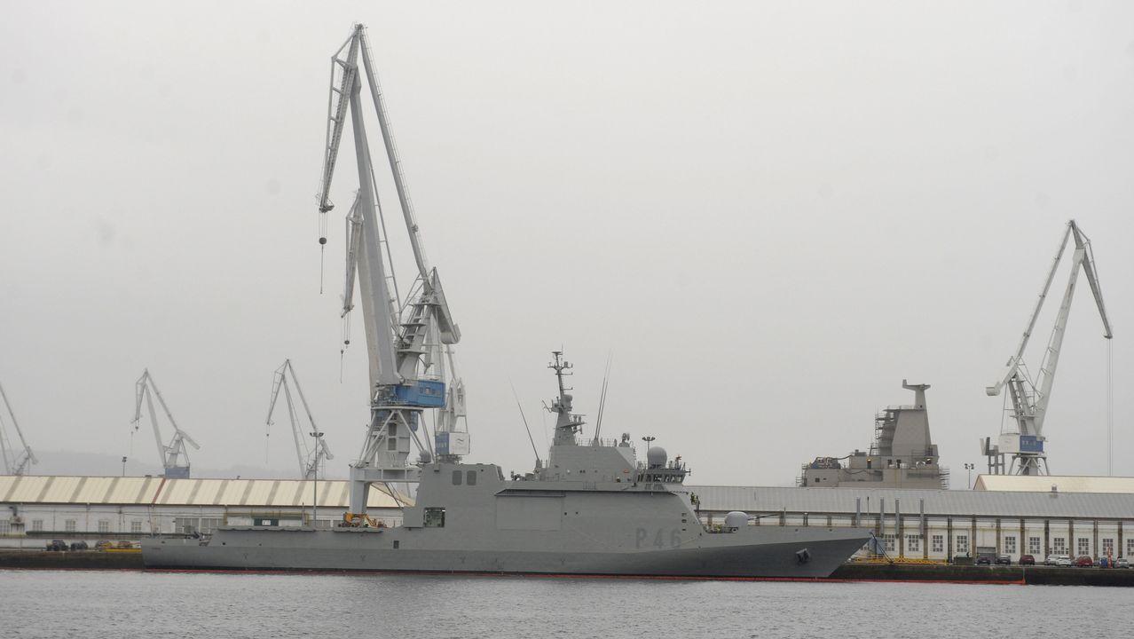 Así son las fragatas F-110 que construirán los astilleros de Ferrol.Policía Local Oviedo