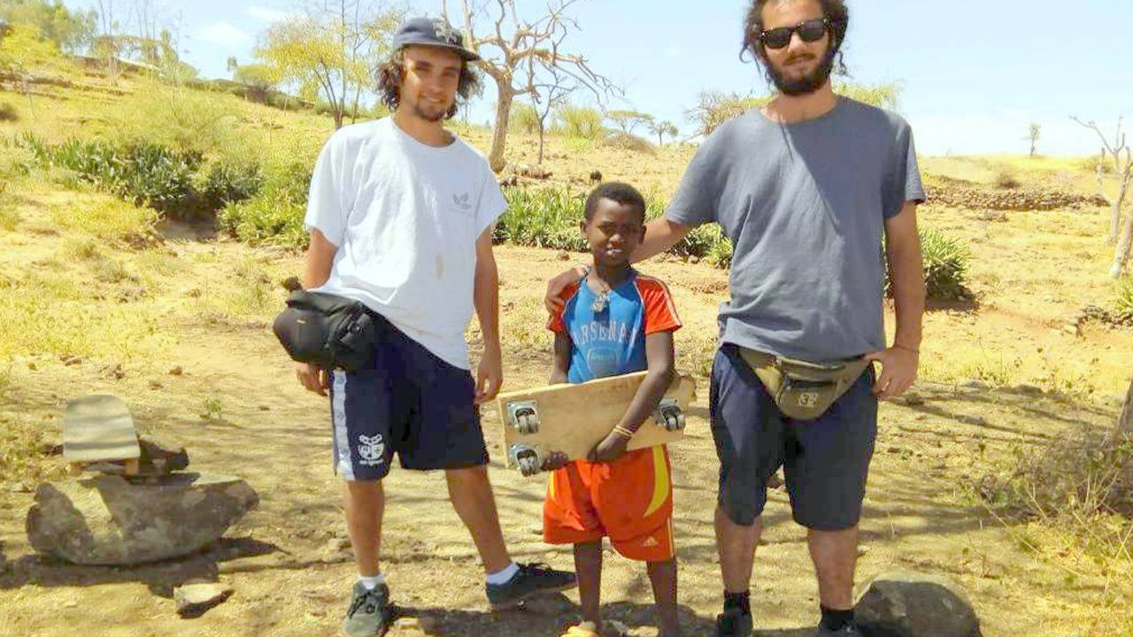 El «skatepark» con ADN asturiano en el corazón de África