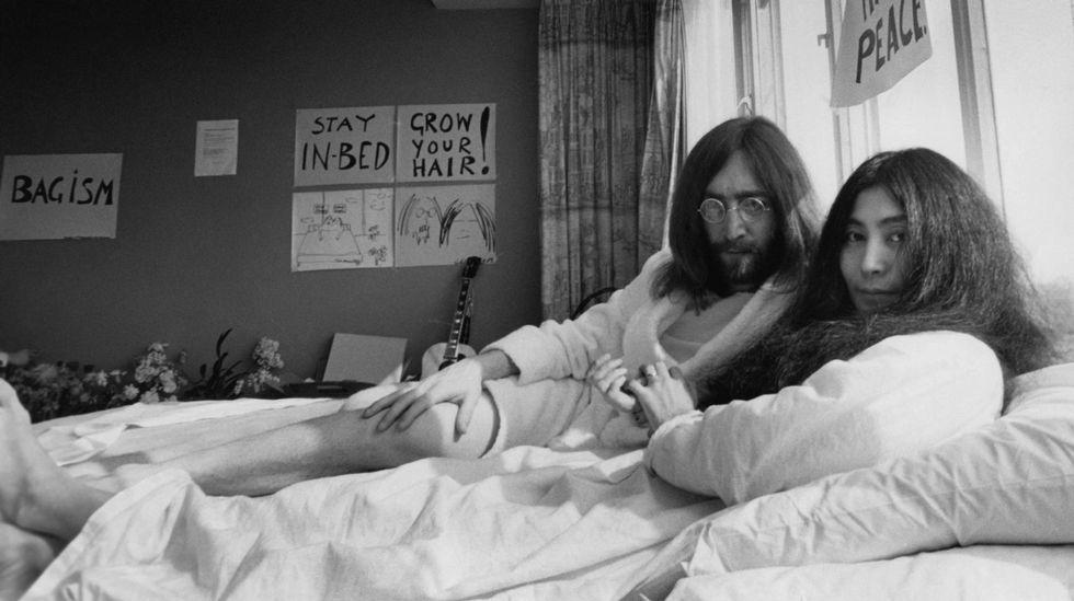Rob López, hijo de una asistente de John Lennon.Yoko Ono