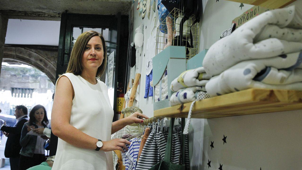 .Adriana Asorey obtuvo una ayuda de Emigración para montar su tienda en Santiago