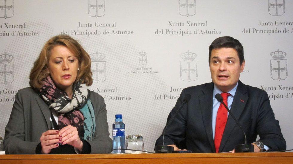 .María Ablanedo y Pedro de Rueda