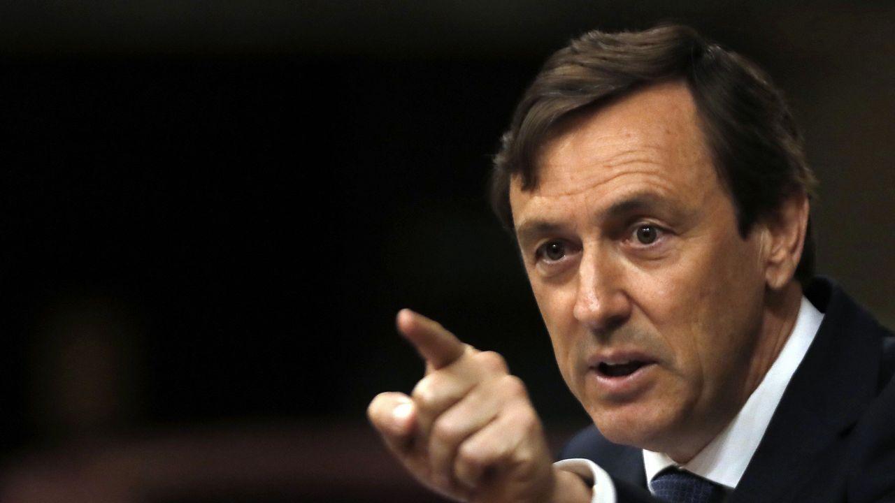 Rajoy: «Ha llegado el momento de poner el punto final».Mario Suárez del Fueyo y José María Pérez