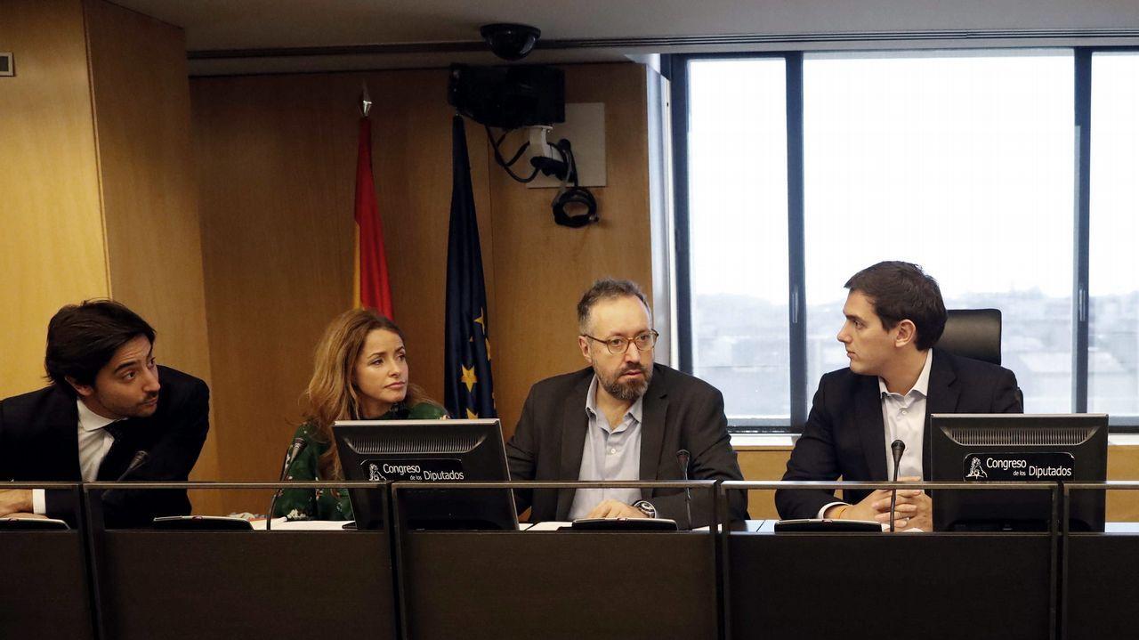 Montero y Girauta.Mariano Rajoy, presidente del Gobierno