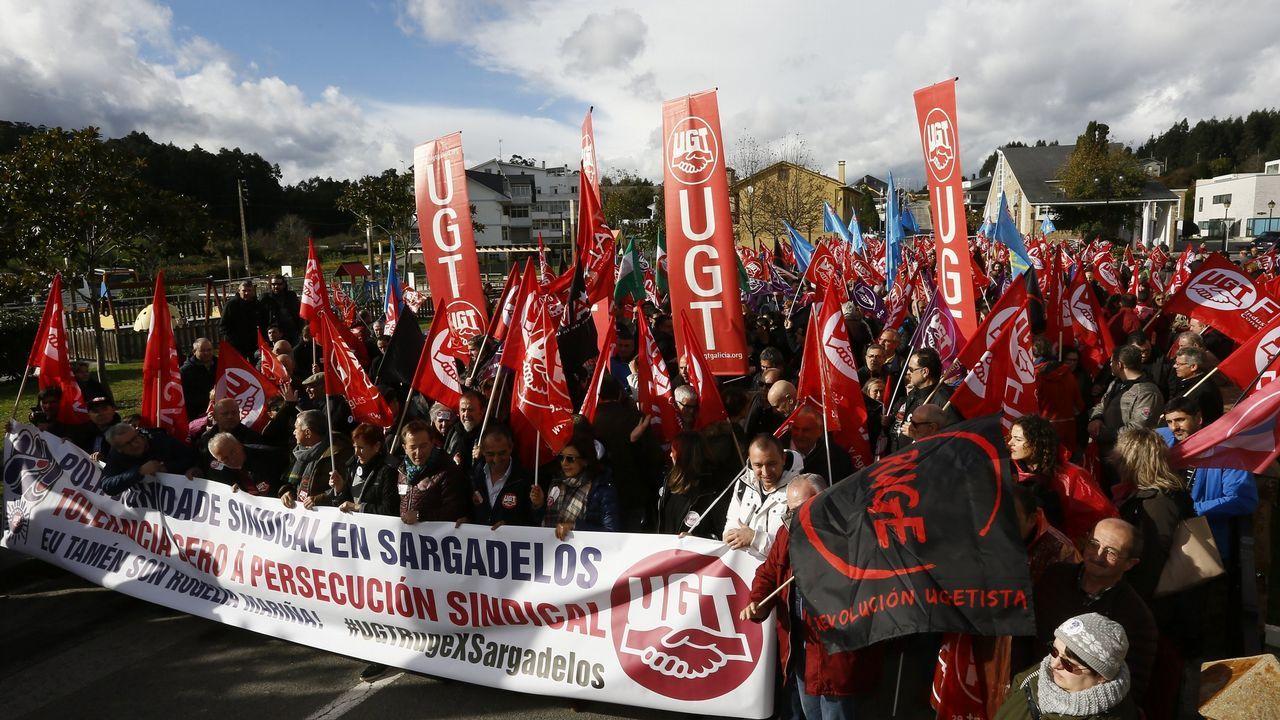 Ambulancia saboteada en Ponteceso durante la huelga
