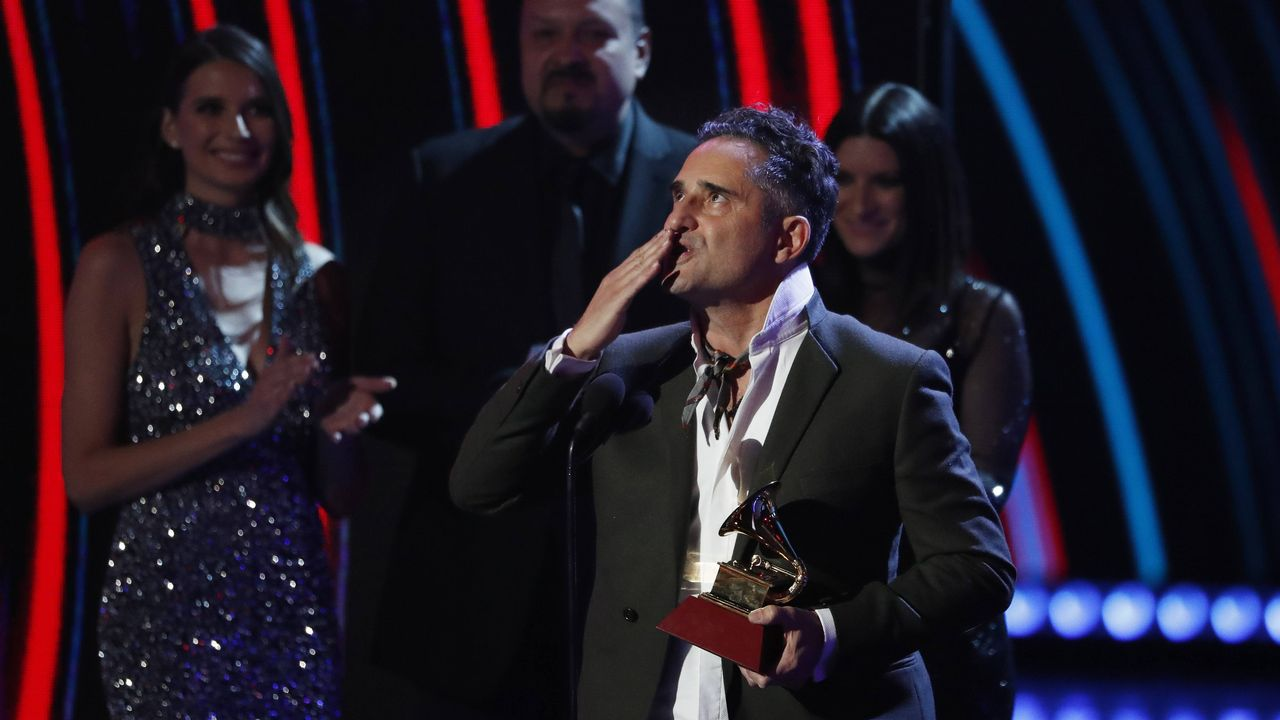 Jorge Drexler, otro de los ganadores de la noche