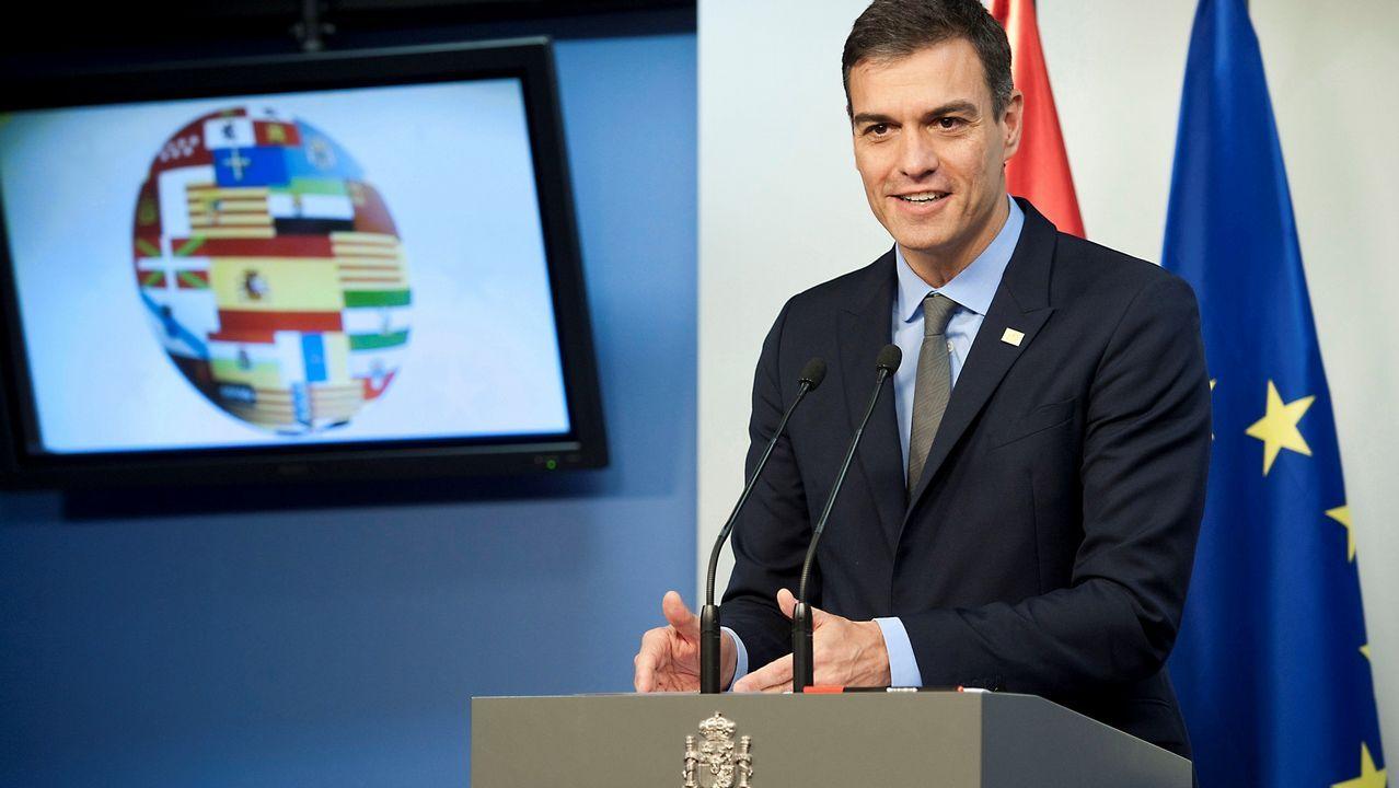 Sánchez: «Con la salida del Reino Unido perdemos todos, pero en relación con Gibraltar, España gana».«El Reino Unido pierde capacidad soberana», aseguró Josep Borrell