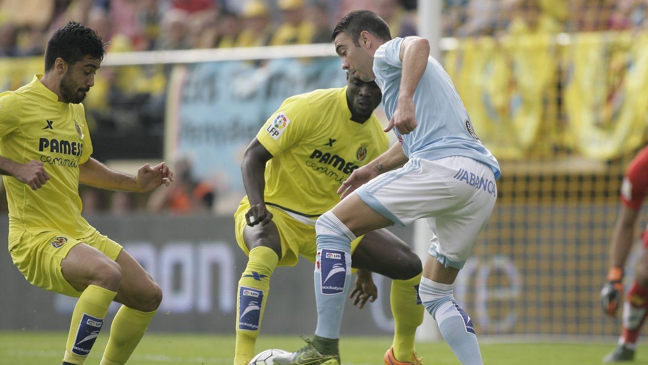 161 - Villarreal-Celta (1-2) de Primera el 18 de octubre del 2015
