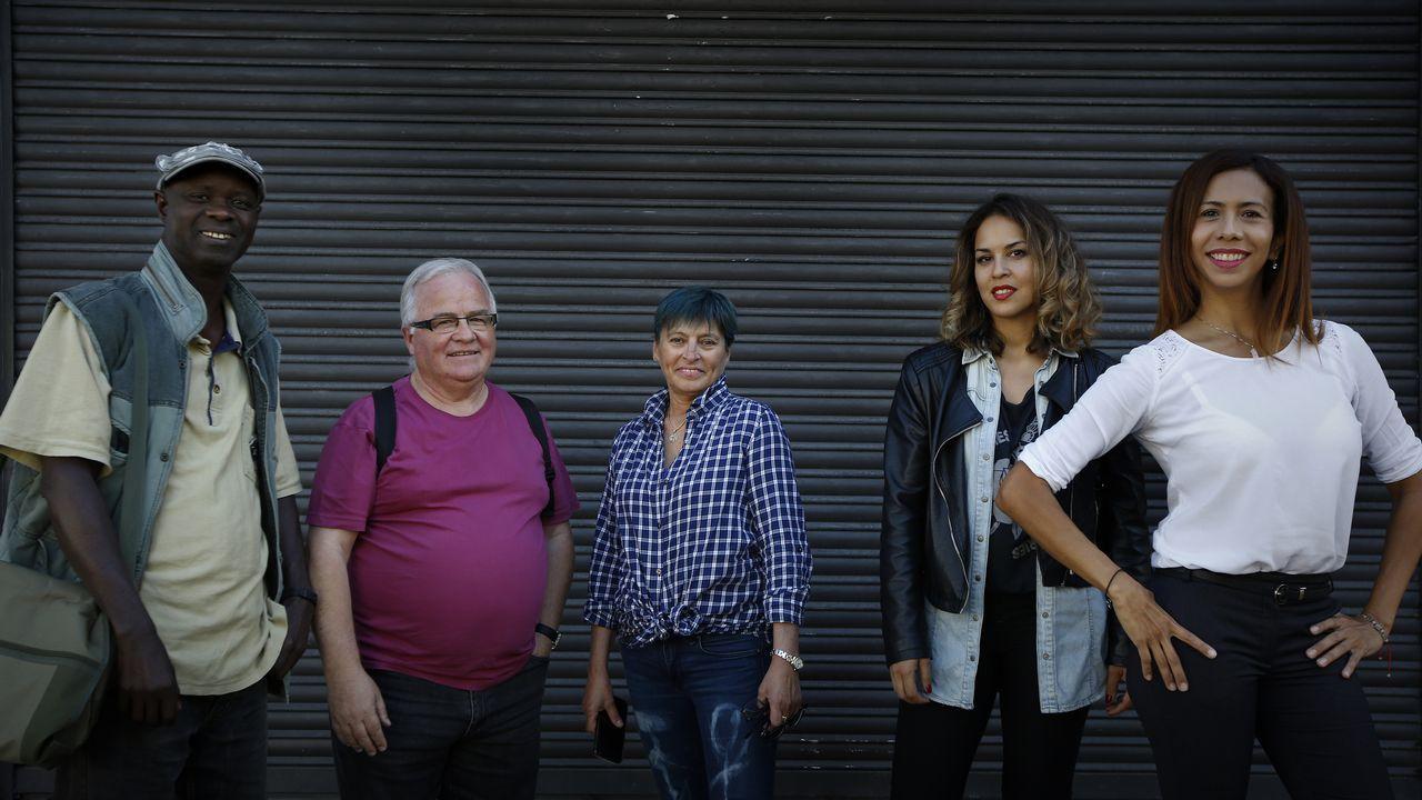 Indignación en la plantilla deAlcoa A Coruña.La pequeña Lara es la única vecina nacida en el concello de Vilariño de Conso durante el 2018