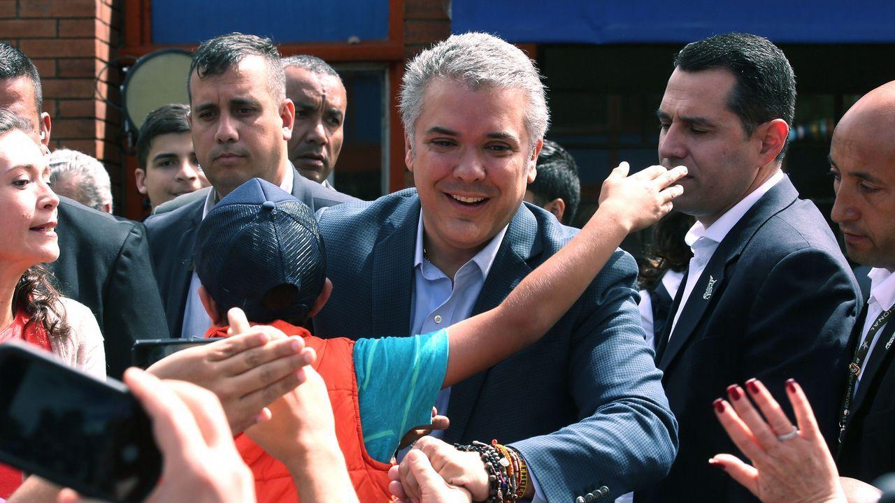 La Junta General acoge el acto oficial por el Día Mundial del Refugiado.José Manuel del Río y Juan Cal