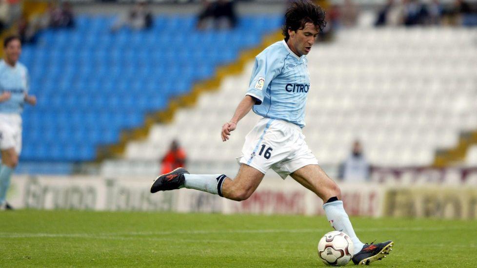 Llegó procedente del Zaragoza y de Vigo se fue a terminar su carrera al Logroñés, donde la había comenzado.