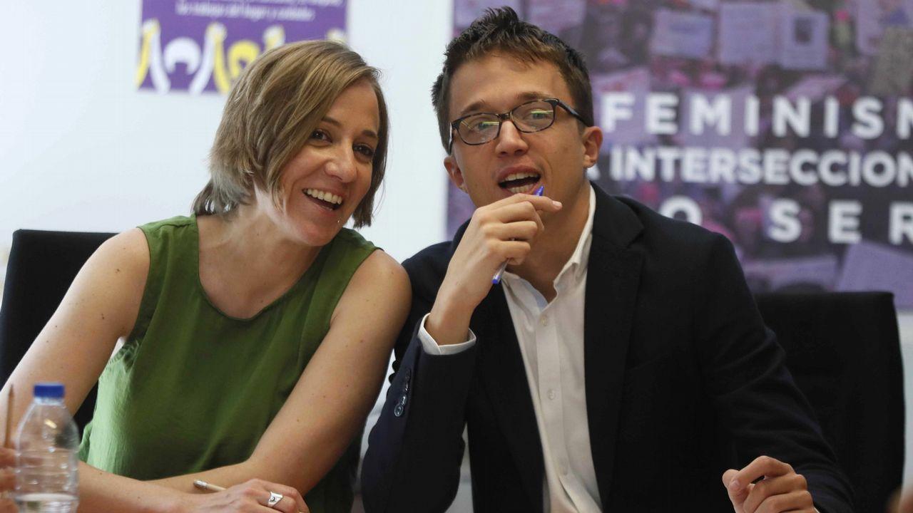 Sigue en directo el pleno municipal de A Coruña.Errejón, durante su vista a la Facultad de Ciencias Políticas de Santiago, donde impartió una conferencia
