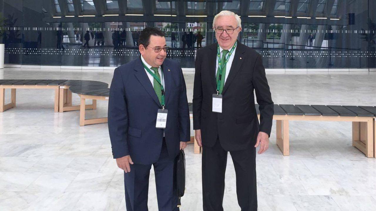 Fernando Martínez y José María Quirós