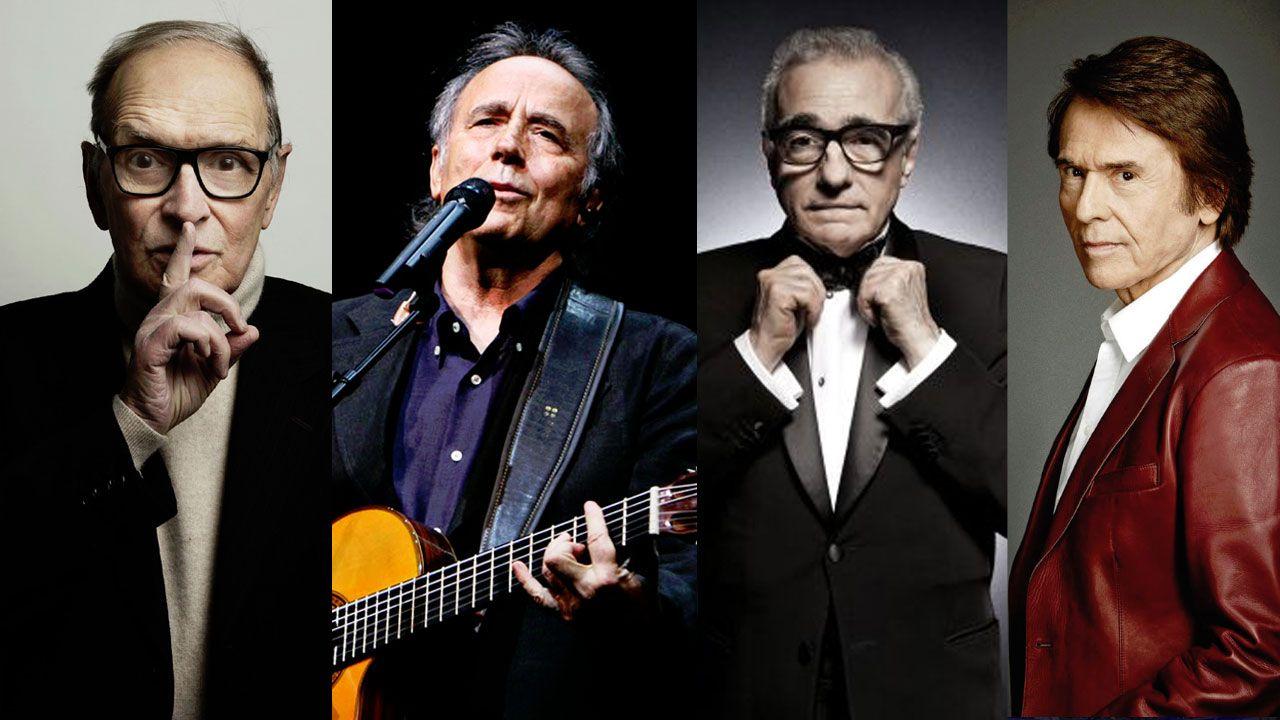 Moal, Pueblo Ejemplar 2018.Morricone, Serrat, Scorsese y Raphael