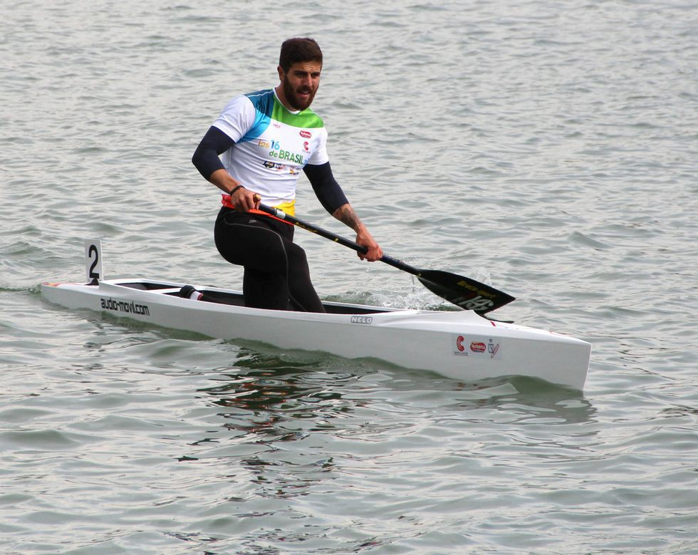 Oliveira quemó otra etapa en su apuesta por ir a Río 2016.
