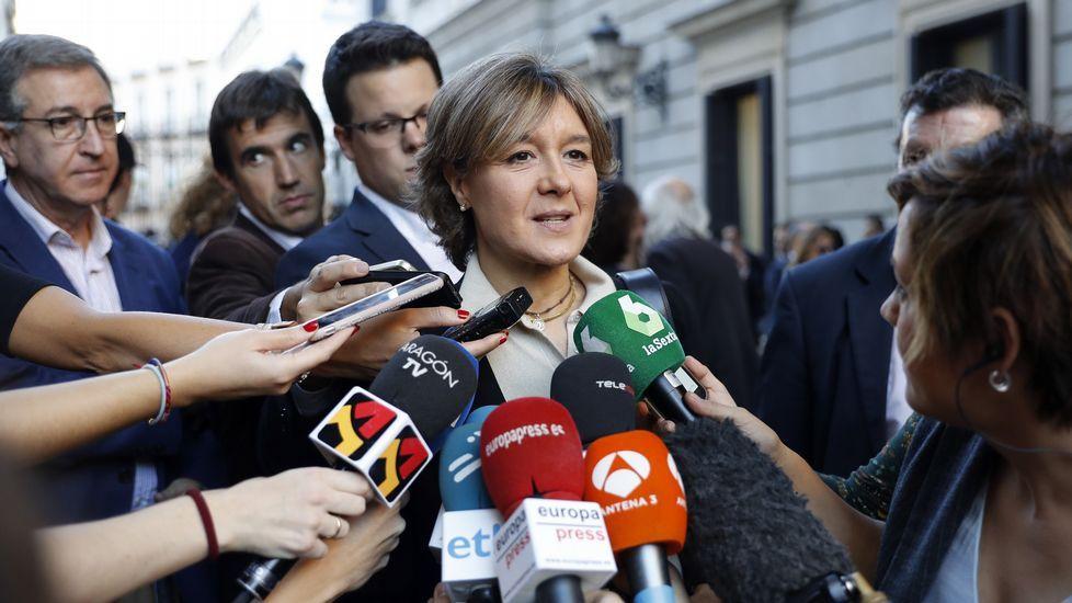 La ministra en funciones de Agricultura, Alimentación y Medio Ambiente, Isabel García Tejerina