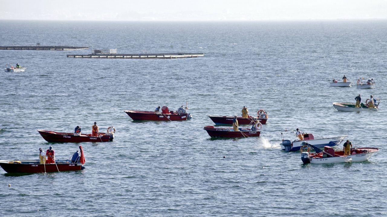 Rescate de los marineros del Sin Querer 2.El cerquero Sin Querer Dos, en una foto de archivo