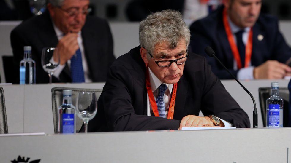 Ángel María Villar declaró ante la Fiscalía Anticorrupción la pasada semana.