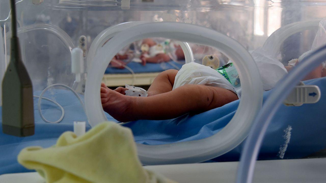 Incubadora en el hospital de Rabta, el centro en el que se registraron las muertes de bebés