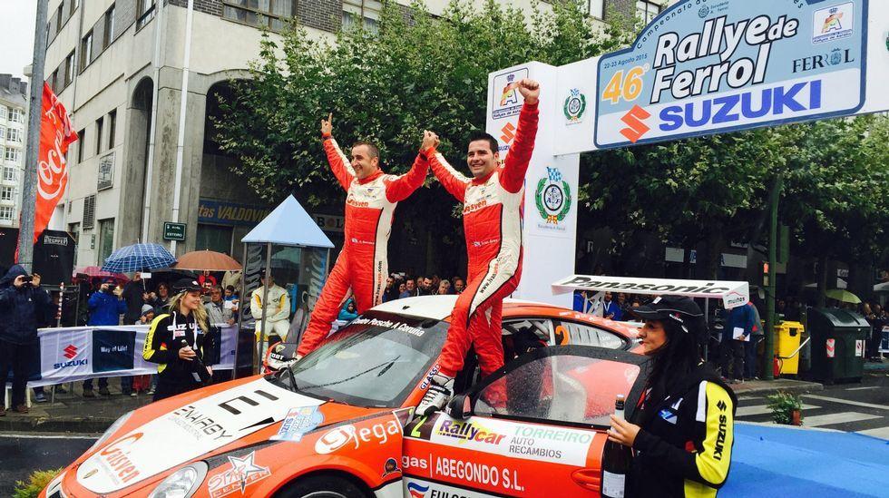 Iván Ares y Álvaro Bañobre, campeones del 2015