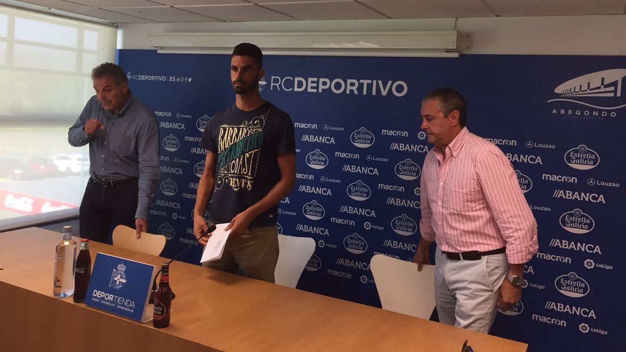 La trayectoria de Juan Domínguez en el Deportivo, en imágenes.