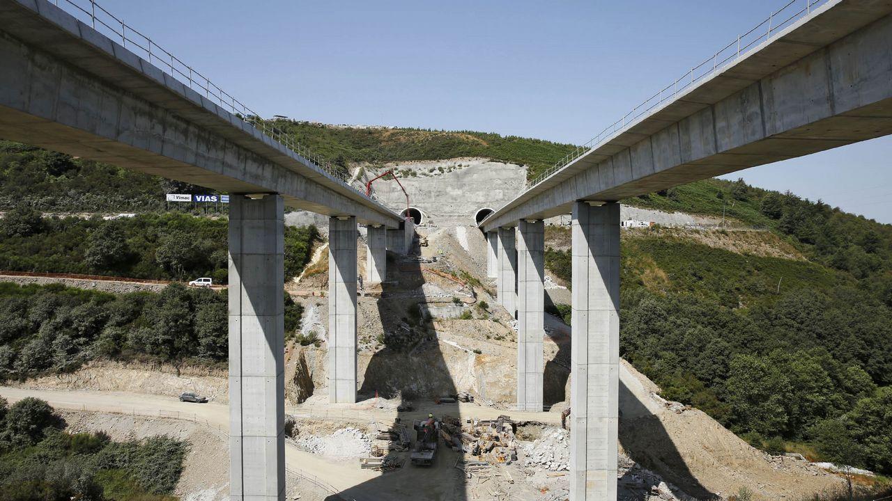Imagen del recorrido ferroviario urbano que se evitará cuando esté terminada la variante