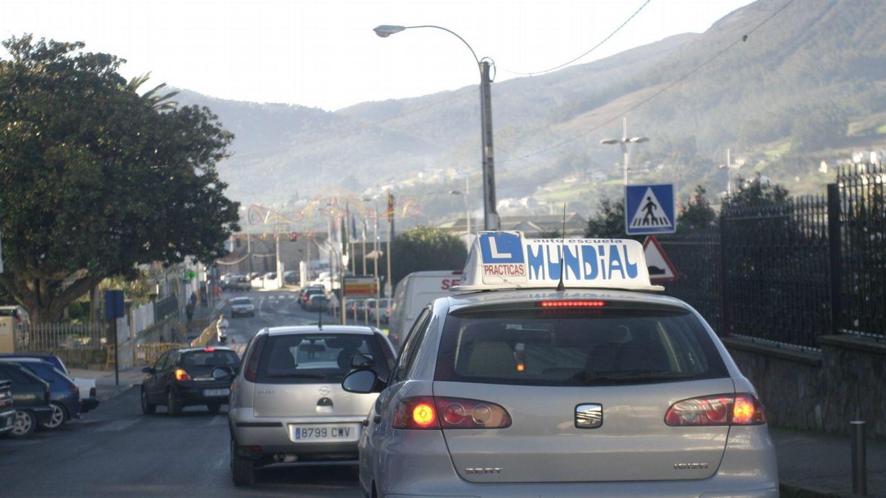 Los daños de la tormenta en el Camino, en Samos