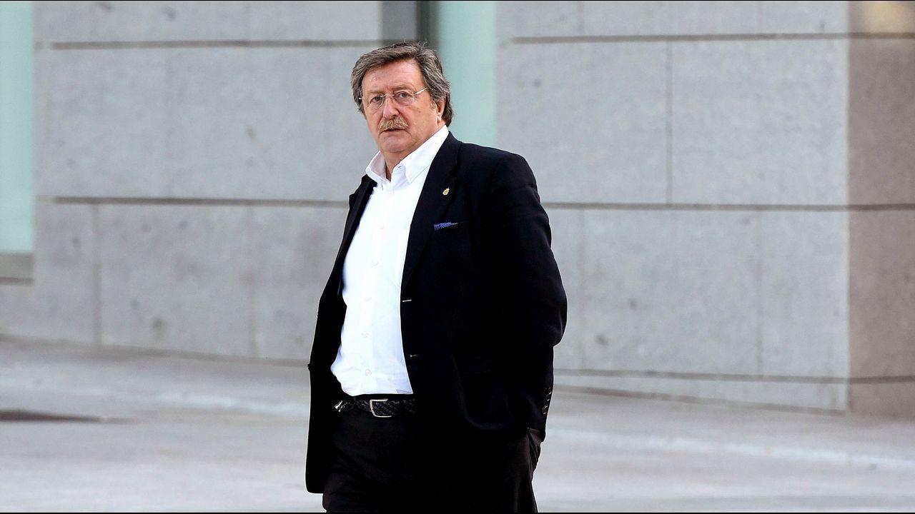 El nuevo presidente de la RFEF declara ante el juez Pedraz.