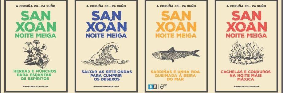 .El nuevo cartel de las fiestas de San Juan se presentó ayer en el Ayuntamiento.